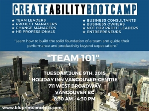 June 9th: Team 101 - How to Build the Solid Foundation of a Team